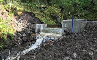 Micro hydroelectric power Ledard & Kelburn
